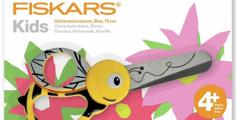 Fiskars Childrens Scissors Bee