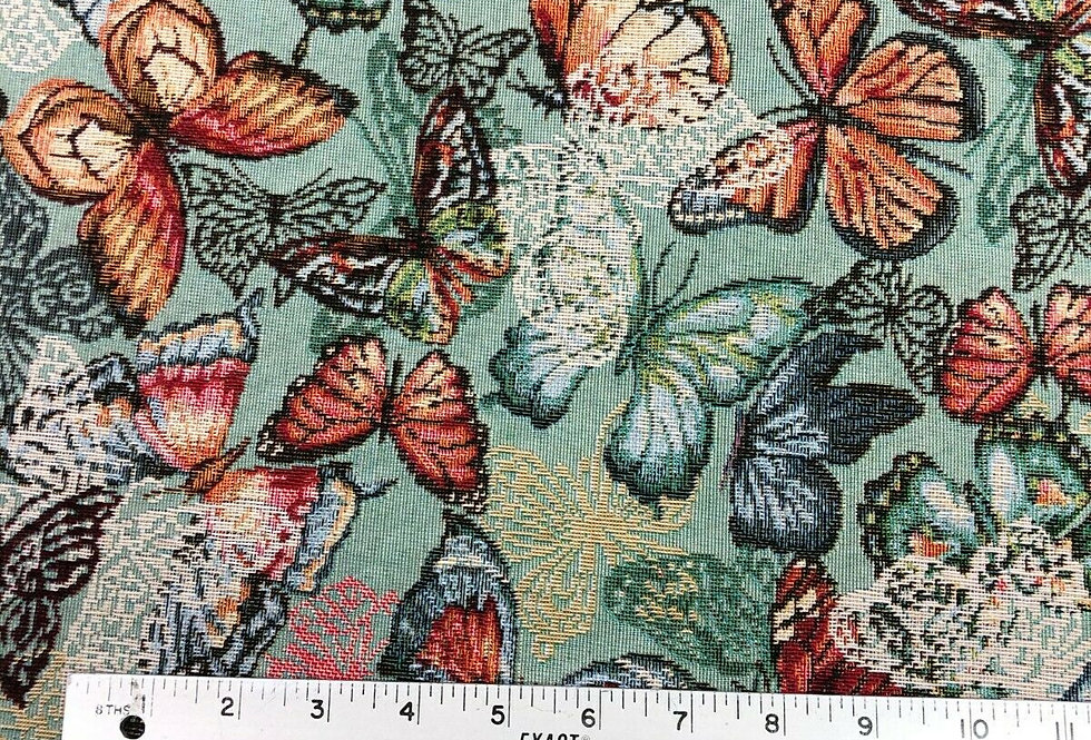 New World Butterfly Tapestry Fabric