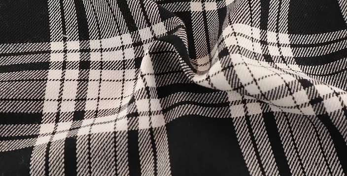 Menzies - Tartan Polyester Dress Fabric