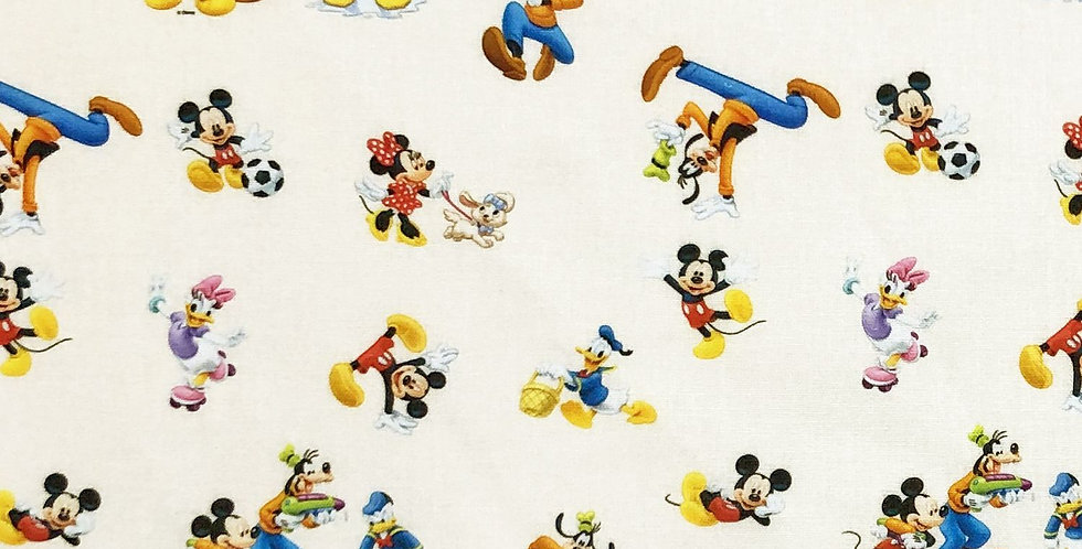 Playout Mickey Mouse Disney 100% Craft Cotton  - Digitally Printed