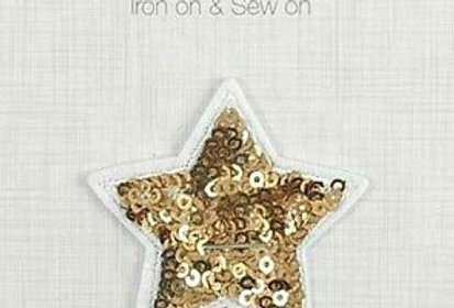 Sparkle Star - Iron on Motif