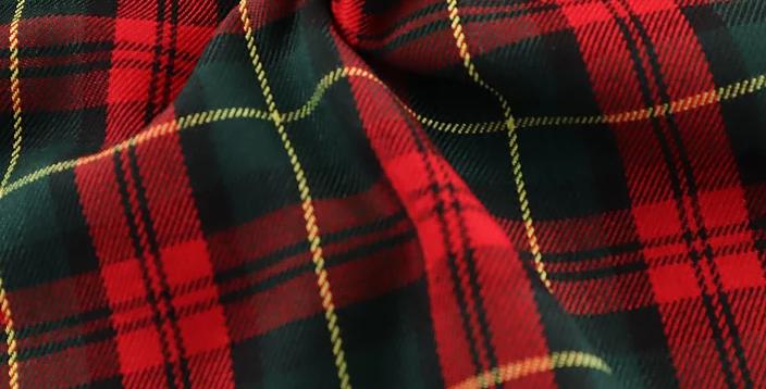 Margaret Rose - Tartan Polyester Dress Fabric