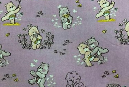 Care Bears - Cheer and Share Bear Lilac - 100% Craft Cotton