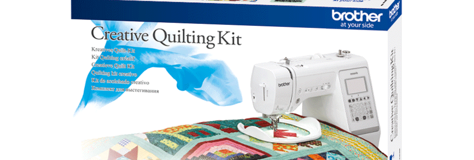 Brother Sewing Machine Creative Quilt Kit QKF2UK