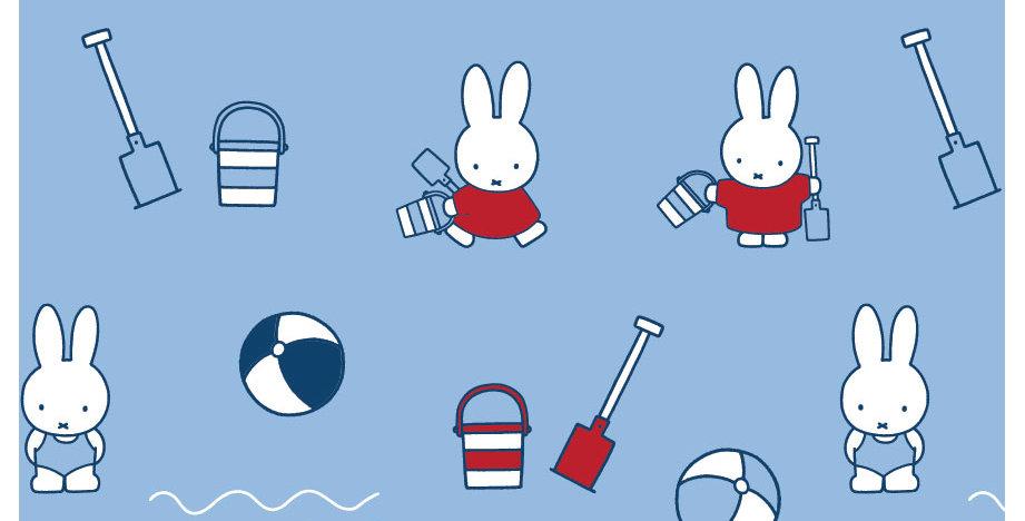 Miffy - Miffy Beach - 100% Craft Cotton