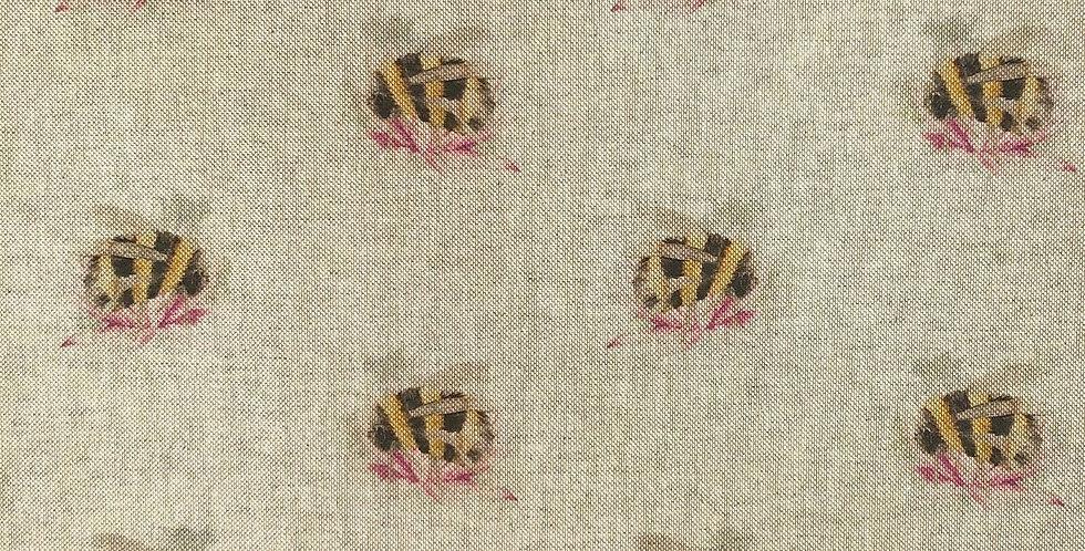 Bombini - Linen Look Canvas Fabric
