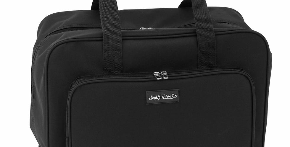 HobbyGift Sewing Machine Carry Bag - Black