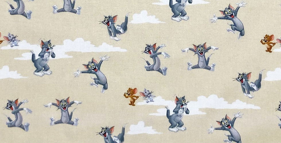 Tom & Jerry Disney 100% Craft Cotton  - Digitally Printed