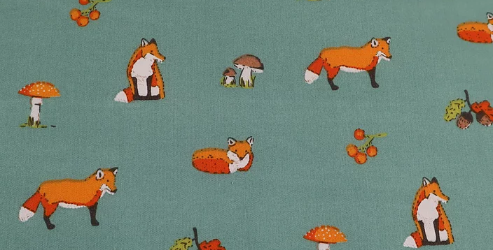 Foxes Polycotton Fabric (78)
