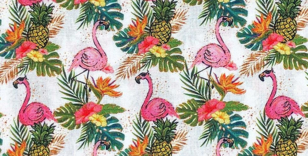 Sunglasses Flamingo - Digitally Printed 100% Craft Cotton