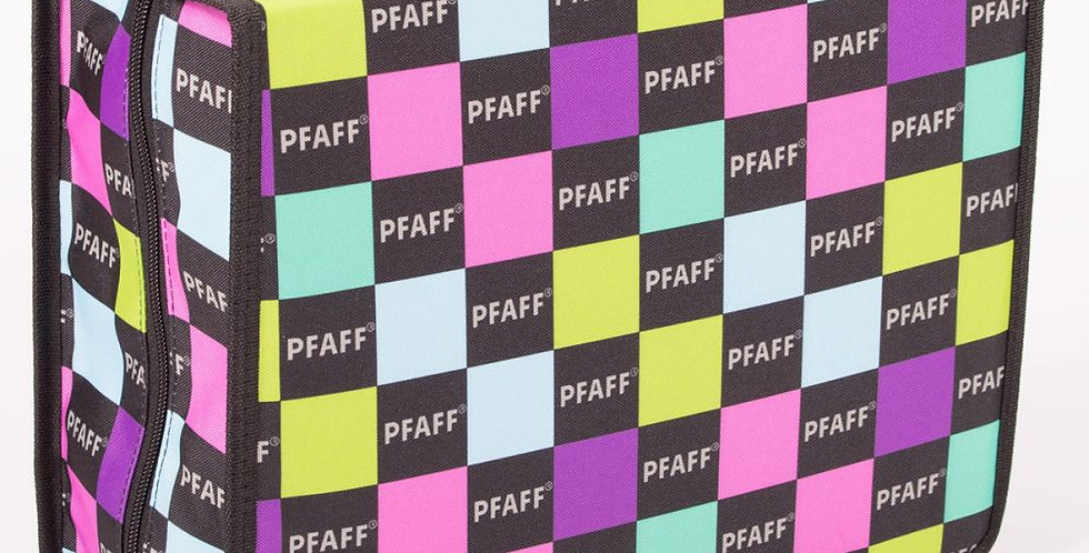 PFAFF Accessory Tote Fabric Sewing Accessory Bag with Inserts