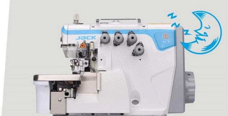 JACK E4-5 - 5 Thread Direct Drive Industrial Overlocking Machine