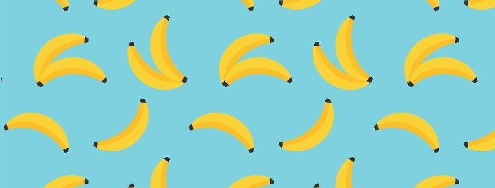 Fabric Freedom Jungle Safari Bananas 100% Craft Cotton