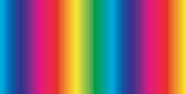 Rainbow Stripe - Digitally Printed 100% Craft Cotton