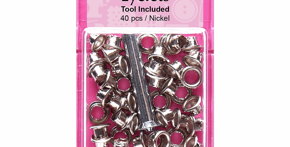 Hemline Eyelets with Tool - 5.5mm