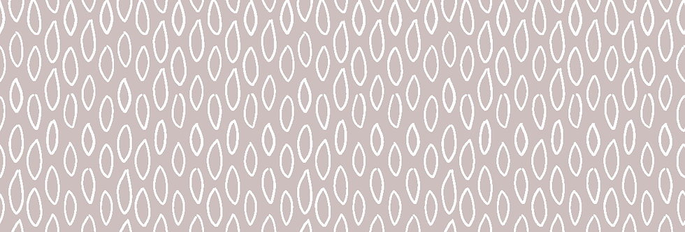 Hootsie Oval Grey/Taupe - 100% Craft Cotton