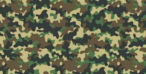 Camouflage - Digitally Printed 100% Craft Cotton