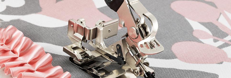 Brother Sewing Machine 7mm Ruffler Foot - F078