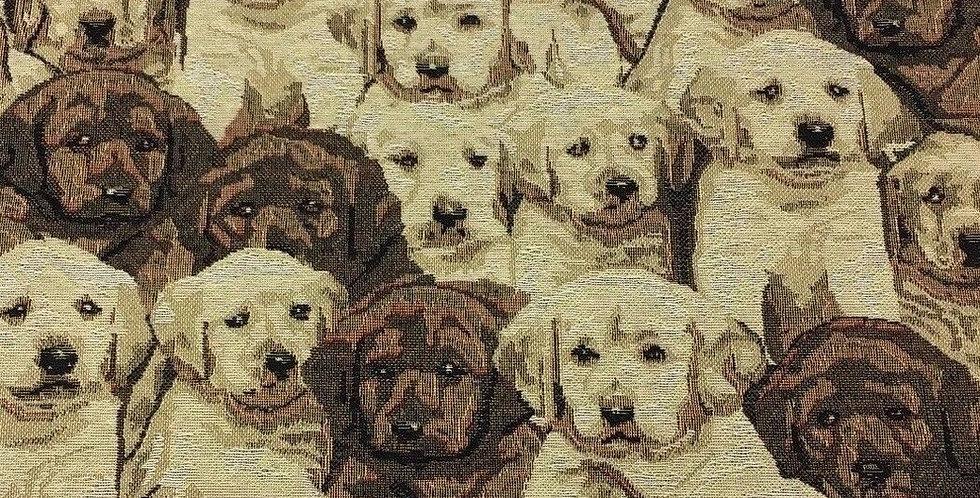 Labrador Puppy Tapestry Fabric