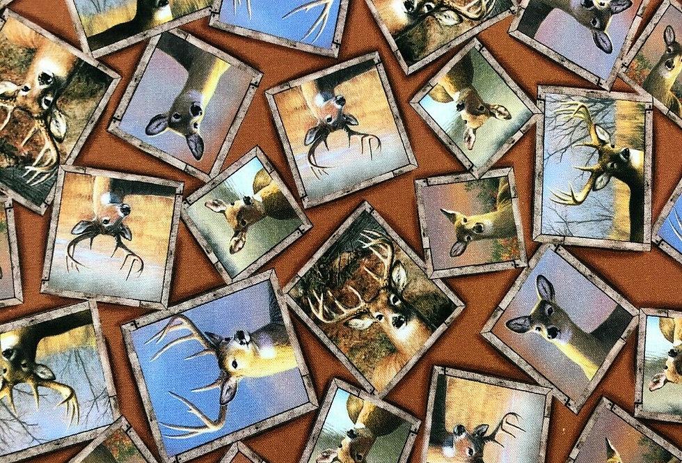 Deer & Stag Photo Frames - 100% Craft Cotton