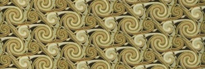 Fabric Freedom 'Celtic' Swirls 100% Craft Cotton