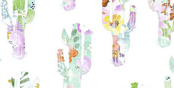 Sun Valley - Cacti Silhouette - 100% Craft Cotton