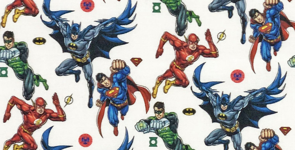 Justice League Disney 100% Craft Cotton  - Digitally Printed