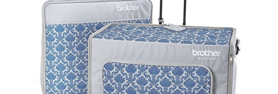 Brother Luminaire XP1 Sewing Machine Bag Trolley Luggage Set #ZSASEBXP1