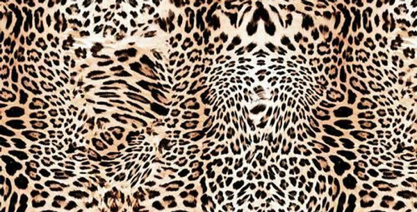 Leopard Animal Skin - Digitally Printed 100% Craft Cotton