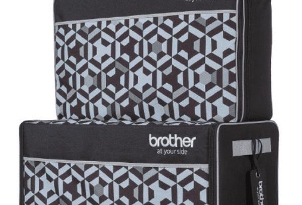 Brother XJ1 XE1 Sewing Machine Bag Trolley Luggage Set #ZSASEBXJ