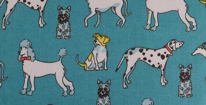 Dogs  Polycotton Fabric (96)