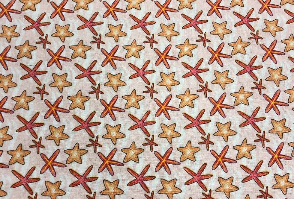 Under the Sea - Starfish - 100% Craft Cotton