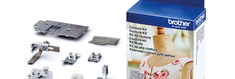 Brother Sewing Machine COUTURE KIT FEET PACK - CTRK1