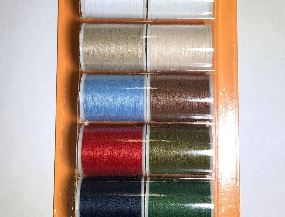 Sew 'n' Care Polyester Sewing Thread 12 x 32m Reels
