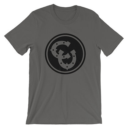 Horseshoe T-Shirt {Off-Black}