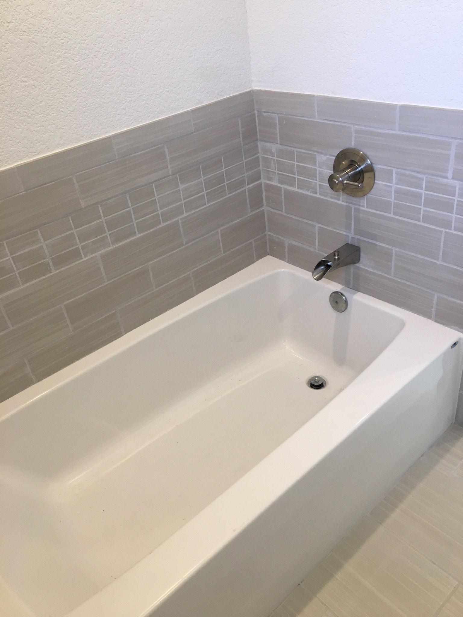 tiled bath and showers