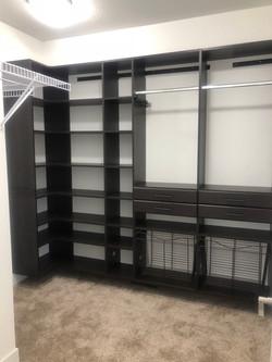 custom made closet shelves