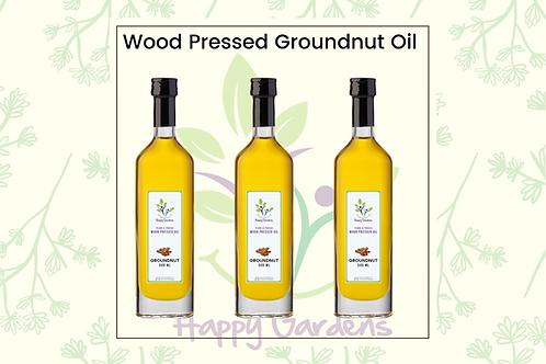Wood Pressed Groundnut OIl - 500 ml