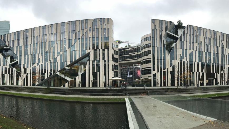 3Ps studiebesök ute i staden Köln och Düsseldorf