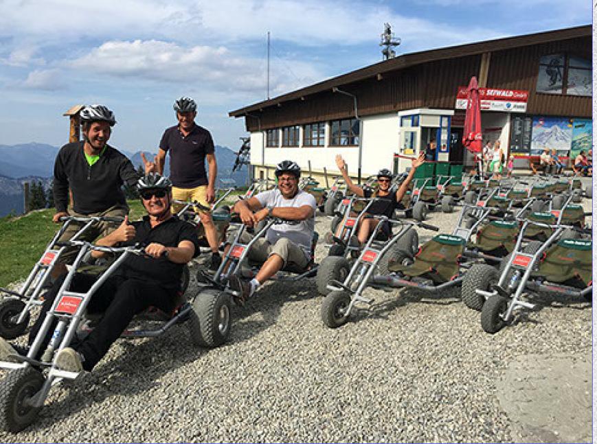 3P på besök i Tirol och Bayern