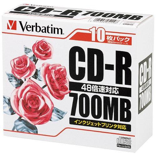 CD-R(700MB)ジェルケース1枚×10枚入