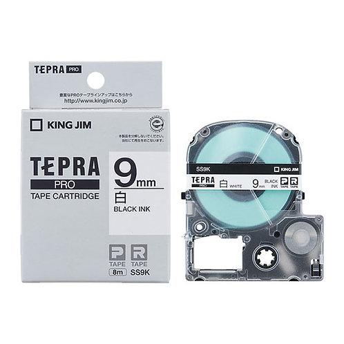 テプラテープ PRO 白ラベル 9mm SS9K