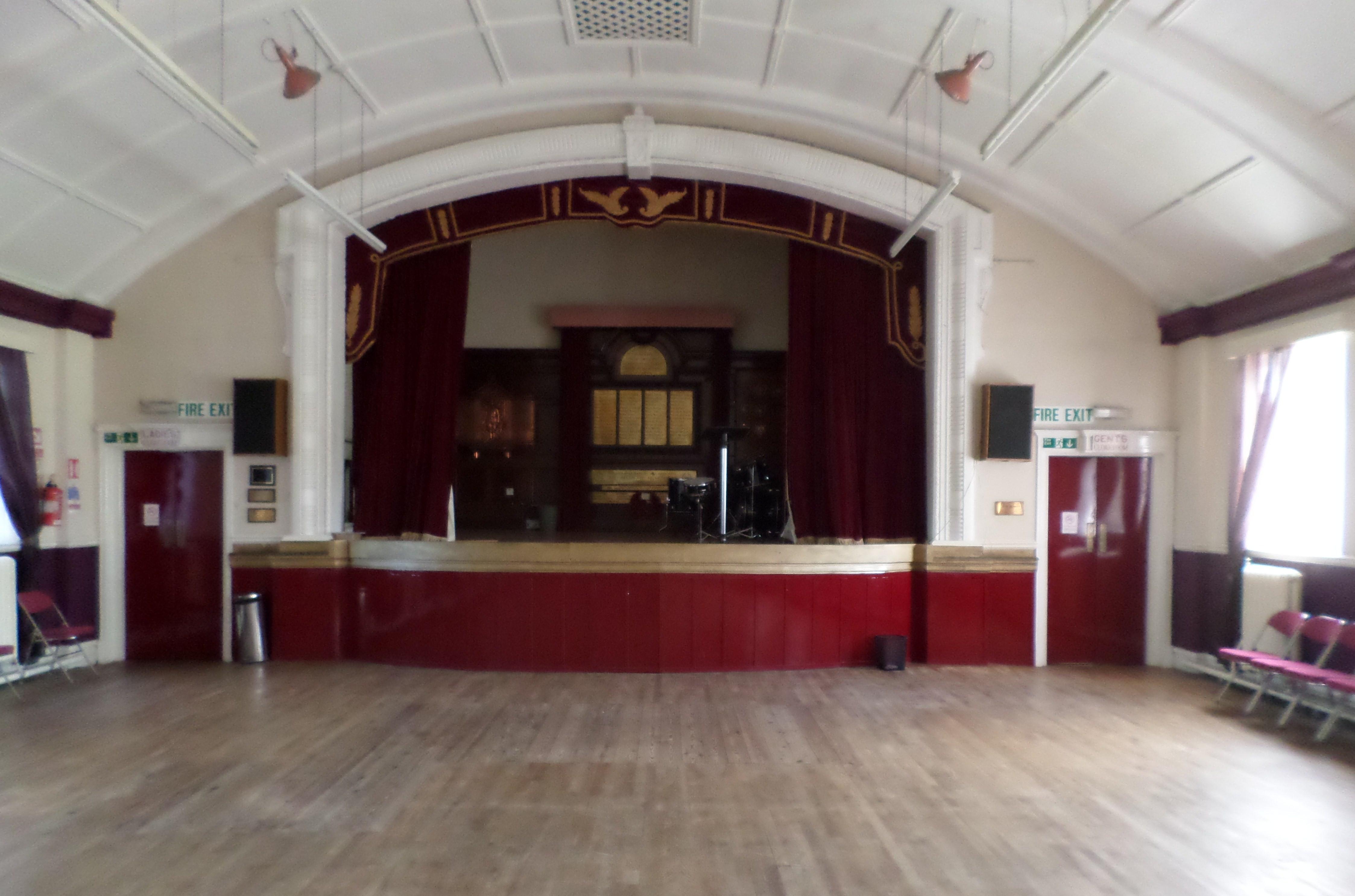 Main Hall - 1 Hour