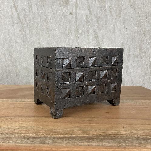CRINOLINE WOODEN SMALL BOX