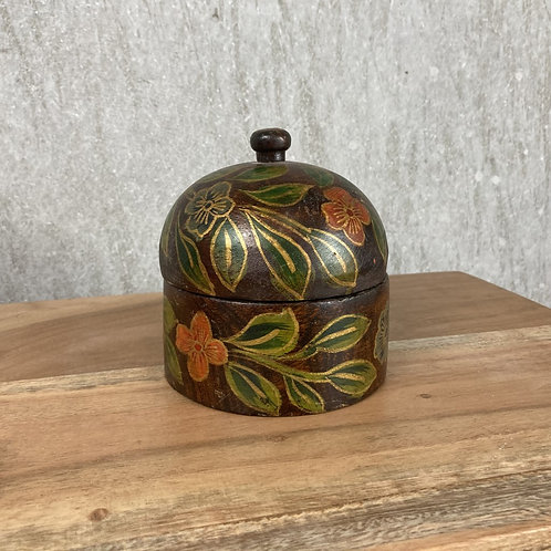 SORREL WOODEN PAINTED BOX