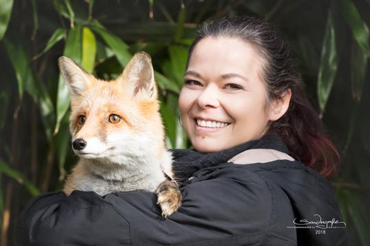 Foxy mit Diana