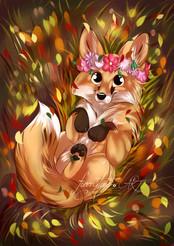 Foxy Bild von furrytale.art