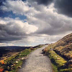 Instagram - path to #snowdonia