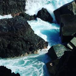#waves #rocks #madaboutmadeira