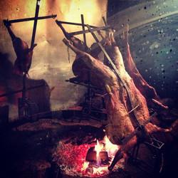 Instagram - patagonian lamb on slow-roast - el calafate